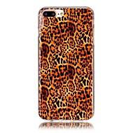 Назначение iPhone X iPhone 8 Чехлы панели С узором Задняя крышка Кейс для Леопардовый принт Мягкий Термопластик для Apple iPhone X iPhone