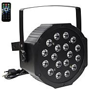 abordables Luces LED Para Escenarios-U'King 30 W Luces Par LED Activada por Sonido RGB 110-240 V / 1 pieza / Cañas / CE / FCC