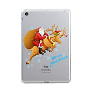voordelige iPad-hoesjes/covers-hoesje Voor Apple iPad Mini 4 iPad Mini 3/2/1 iPad 4/3/2 iPad Air 2 iPad Air iPad (2017) Transparant Patroon Achterkant Transparant