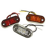 sencart 1 stk lastebil / motorsykkel / bilpærer 1w dip led 120lm 2 utvendige lys dekorasjonslys for universelle alle år