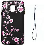 Etui Til Samsung Galaxy S8 Plus S8 Mønster Bagcover Blomst Blødt TPU for S8 S8 Plus S7 edge S7 S6 edge S6 S5