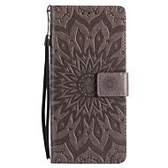 For Case Cover Card Holder Wallet with Stand Flip Pattern Full Body Case Mandala Hard PU Leather for Samsung Note 8 Note 5 Note 4 Note 3