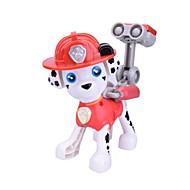 abordables Figuras de acción y Modelos-Juguetes y figuras de acción Juguetes Perros Animales Diseño de Caricatura Plástico blando Niños Piezas
