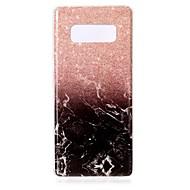 чехол для Samsung Galaxy Note 8 обложка imd задняя крышка корпус мрамор мягкий чехол для tpu