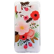 Назначение iPhone X iPhone 8 Чехлы панели IMD С узором Задняя крышка Кейс для Цветы Мягкий Термопластик для Apple iPhone X iPhone 8 Plus