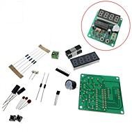 お買い得  Arduino 用アクセサリー-4ビットデジタルは、電子時計の生産スイートdiyキットセットを導いた