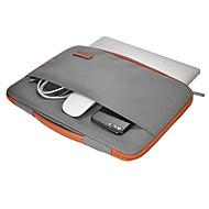 Dodocool 13-13.3 Zoll Laptop Nylon Reißverschluss Hülle ultrabook Tragetasche Notizbuch Schutztasche Abdeckung mit PU Leder Griff für