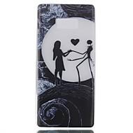 Кейс для Назначение SSamsung Galaxy Note 8 Сияние в темноте Задняя крышка Соблазнительная девушка Мягкий Термопластик для Note 8