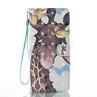 Кейс для Назначение SSamsung Galaxy Note 8 Кошелек Бумажник для карт со стендом Флип С узором Чехол Животное Твердый Искусственная кожа