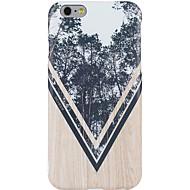Назначение iPhone X iPhone 8 Чехлы панели С узором Задняя крышка Кейс для Имитация дерева дерево Мягкий Термопластик для Apple iPhone X