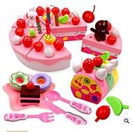 preiswerte Spielzeuge & Spiele-Medical Kits Spielessen Tue so als ob du spielst Gemüse Frucht Kuchen entspannte Passform Geruchsfrei Sets Kunststoff Kinder Unisex Jungen Mädchen Spielzeuge Geschenk 1 pcs