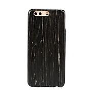 お買い得  携帯電話ケース-ケース 用途 Huawei P10 Plus P10 超薄型 バックカバー 木目 ハード 木製 のために P10 Plus P10 Huawei