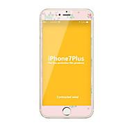 Недорогие Защитные плёнки для экрана iPhone-Защитная плёнка для экрана Apple для iPhone 7 Plus Закаленное стекло 1 ед. Защитная пленка на всё устройство Против отпечатков пальцев
