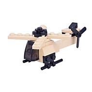 billige Legetøj og hobbyartikler-Byggeklodser Simple Fighter Bil Helikopter Børne Gave