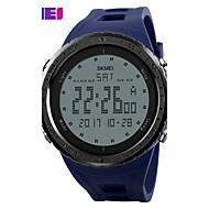 Недорогие Мужские часы-SKMEI Муж. электронные часы Спортивные часы Цифровой Повседневные часы PU Группа Кулоны Черный Синий Зеленый Серый
