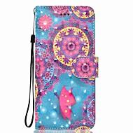 Кейс для Назначение SSamsung Galaxy Note 8 Кошелек Бумажник для карт со стендом Флип С узором Магнитный Чехол Бабочка Твердый