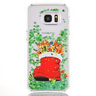 Etui Käyttötarkoitus Samsung Galaxy S7 edge S7 Virtaava neste Kuvio Takakuori Joulu Kova PC varten S7 edge S7 S6 edge plus S6 edge
