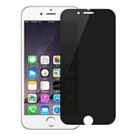 Недорогие Защитные плёнки для экрана iPhone-Защитная плёнка для экрана Apple для iPhone 8 Pluss Закаленное стекло 1 ед. Защитная пленка для экрана 3D закругленные углы Anti-Spy