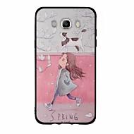 billige Galaxy J1 Etuier-Etui Til Samsung Galaxy J7 (2017) J3 (2017) Mønster Bagcover Sexet kvinde Tegneserie Blødt TPU for J7 V J7 Perx J7 (2016) J7 (2017) J7 J5