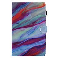 para capa de capa carteira carteira com suporte flip pattern caixa de corpo inteiro mármore dur couro para samsung tab e 9.6 tab e 8.0 tab
