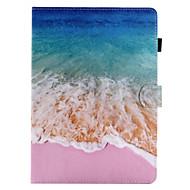 billige Etuier og covers til iPad-til kuffert kortholder lommebog med stativ flip mønster fuld krop tilfælde sceneri hard pu læder til æble ipad pro 10.5 ipad (2017) ipad