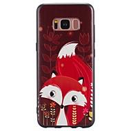 для случая samsung galaxy s8 plus s8 кейс чехол красный лиса рисунок tpu материал телефон чехол для галактики s7 s7 край