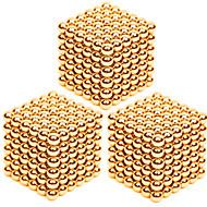 billige Legetøj og hobbyartikler-Magnetiske puslespil Superkraftige neodym-magneter Neodymmagnet Magnetiske kugler Stresslindrende legetøj 3 Stk. 3mm Legetøj Lindrer ADD,