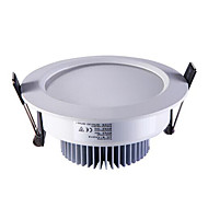 1pc 5w led downlight loft lys hvid ac220v størrelse hul 100mm 5800k