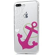 Назначение iPhone X iPhone 8 Чехлы панели Ультратонкий С узором Задняя крышка Кейс для анкер Мягкий Термопластик для Apple iPhone X