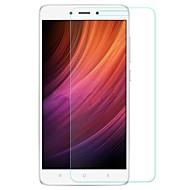 olcso Képernyő védők-Edzett üveg Képernyővédő fólia mert Xiaomi Xiaomi Redmi Note 4X Kijelzővédő fólia 9H erősség Robbanásbiztos Karcolásvédő Anti-ujjlenyomat