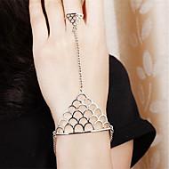 Női Gyűrű karkötők Ékszerek Divat Régies (Vintage) Ötvözet Round Shape Triangle Shape Ékszerek Kompatibilitás Napi