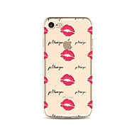 для крышки случая прозрачный тип задняя крышка случая плитка сексуальная леди мягкая tpu для яблока iphone x iphone 8 плюс iphone 8 iphone
