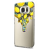 Кейс для Назначение SSamsung Galaxy S8 Plus S8 Прозрачный С узором Задняя крышка Животное Фрукты Мягкий TPU для S8 S8 Plus S7 edge S7 S6