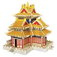 お買い得  おもちゃ & ホビーアクセサリー-3Dパズル ジグソーパズル ウッド模型 モデル作成キット ハウス型 ファッション 家 クラシック ファッション 新デザイン 子供 DIY ホット販売 ウッド 1pcs コンテンポラリー 子供用 ギフト