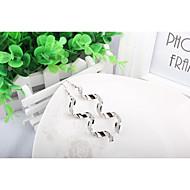 저렴한 -여성용 스터드 귀걸이 합금 보석류 보석류 제품 일상 캐쥬얼