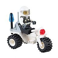 tanie Zabawki & hobby-JIESTAR Klocki Figurki z klocków Motor Zabawki Motocykl Policjant Pojazdy Wojskowy Non Toxic Klasyczny New Design Dla dorosłych 27 Sztuk