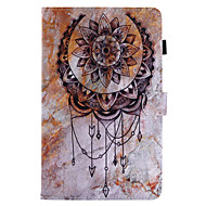 For Case Cover Card Holder with Stand Flip Magnetic Pattern Full Body Case Dream Catcher Hard PU Leather for Samsung Galaxy Tab E 9.6 Tab