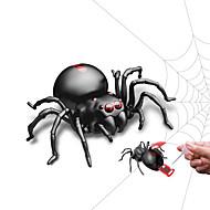 お買い得  おもちゃ & ホビーアクセサリー-いたずらガジェット ハロウィーン小道具 知育玩具 ノベルティ柄 モト アニマル SPIDER 子供 動物 DIY 昆虫 ファッション 子供用 ギフト 1pcs
