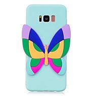 Кейс для Назначение SSamsung Galaxy S8 Plus S8 С узором Своими руками Задняя крышка Бабочка 3D в мультяшном стиле Мягкий TPU для S8 S8