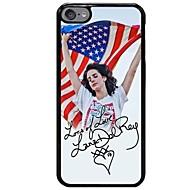 Кейс для Назначение iPhone X iPhone 8 С узором Задняя крышка Соблазнительная девушка Флаг Мягкий TPU для iPhone X iPhone 8 Plus iPhone 8