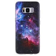 voordelige Galaxy S-serie hoesjes / covers-hoesje Voor Patroon Achterkantje Hemel Zacht TPU voor S8 S8 Plus S7 edge S7 S6 edge plus S6 edge S6 S6 Active S5 Mini S5 Active S5 S4