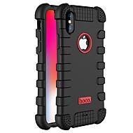 Hülle Für Apple iPhone X Staubdicht Handyhülle für das ganze Handy Volltonfarbe Weich Silikon für iPhone X