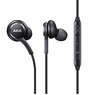 s8 en los auriculares con cable de oreja auriculares de plástico de teléfono móvil auricular de confort ergonómico ergonómico