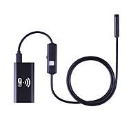 お買い得  -wifi内視鏡8mmカメラ1.5mのborescopeの防水検査アンドロイドのiosのタブレットPCのUSB endoskopのHDカメラの硬いチューブ