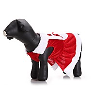 Gato Perro Disfraces Abrigos Vestidos Ropa para Perro Fiesta Casual/Diario Cosplay Mantiene abrigado Boda Navidad Año Nuevo Halloween