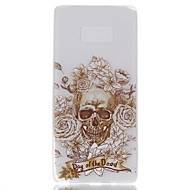 For Case Cover Pattern Back Cover Case Skull Soft TPU for Samsung Galaxy Note 8 Note 5 Edge Note 5 Note 4 Note 3 Lite Note 3 Note 2 Note