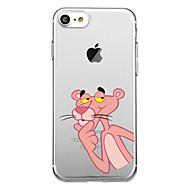 hoesje Voor Apple iPhone X / iPhone 8 Patroon Achterkant dier Zacht TPU voor iPhone X / iPhone 8 Plus / iPhone 8