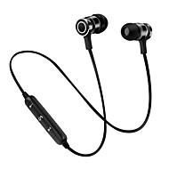 S6 in Ohr drahtlose Kopfhörer dynamische Kunststoff Sport&Fitness-Kopfhörer mit Mikrofon mit Lautstärkeregler-Headset