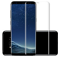 Screenprotector voor Samsung Galaxy S8 Gehard Glas Voorkant screenprotector High-Definition (HD) 9H-hardheid Krasbestendig 3D gebogen rand