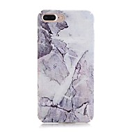 Case For Apple iPhone X iPhone 8 Frosted Pattern Back Cover Marble Hard PC for iPhone X iPhone 8 Plus iPhone 8 iPhone 7 Plus iPhone 7